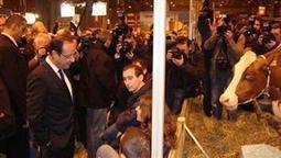 Au Space à Rennes - François Hollande sera-t-il bizuté par les éleveurs? - Agrisalon   Actualité de l'Industrie Agroalimentaire   agro-media.fr   Scoop.it