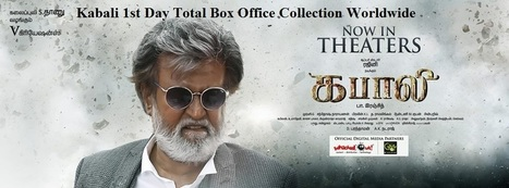 Kabali 1st Day Collection | Reviews | Scoop.it