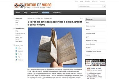 Luces, cámara y ¡acción!: 13 servicios y canales de YouTube para aprender sobre cine | Educacion, ecologia y TIC | Scoop.it