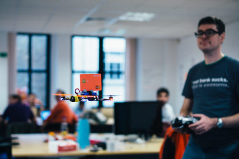 Cards fly to POS with Drone Pay - at last some fun in mobile #payments! | Payments 2.0 | Scoop.it
