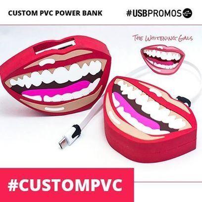 Custom PVC Power Banks | Bespoke Design | Scoop.it