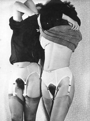 Vintage Garters & Stockings, No Panties | Busty Boobs Babes | Scoop.it