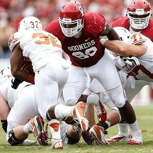 Sooners Defensive Line Makes A Stand; Impresses OU Fans And Depresses Texas Fans | Sooner4OU | Scoop.it