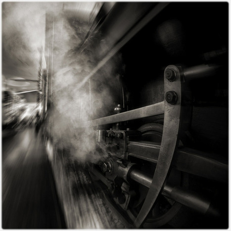 Down There By The Train, photography by Biserko Fercek | ART  | Conceptual Photography & Fine Art | Scoop.it