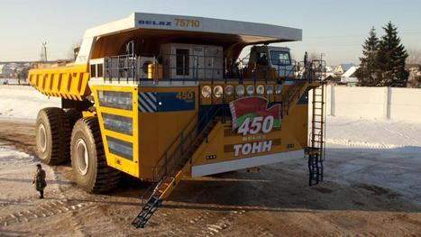 Belaz 75710: The giant dumptruck from Belarus | Better Mobility, Living, Logistics, Infrastructure | Scoop.it