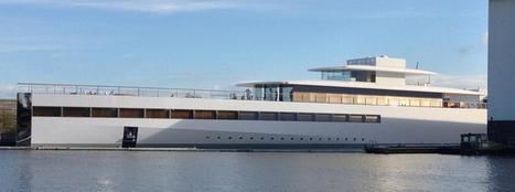 Steve Jobs' Venus Yacht is unveiled | Eye on concepts | Scoop.it