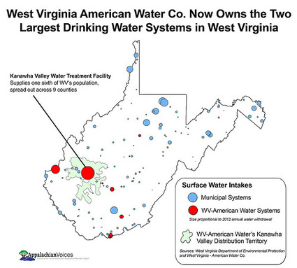 Dangers of Water Privatization Emerge In the Wake of West Virginia's Chemical Spill | EcoWatch | EcoWatch | Scoop.it