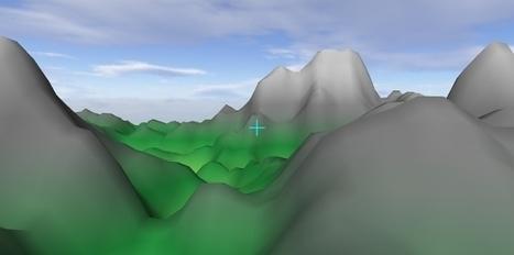 PeaksAndValleys Added to WebGL-Samples Repository ... | opencl, opengl, webcl, webgl | Scoop.it