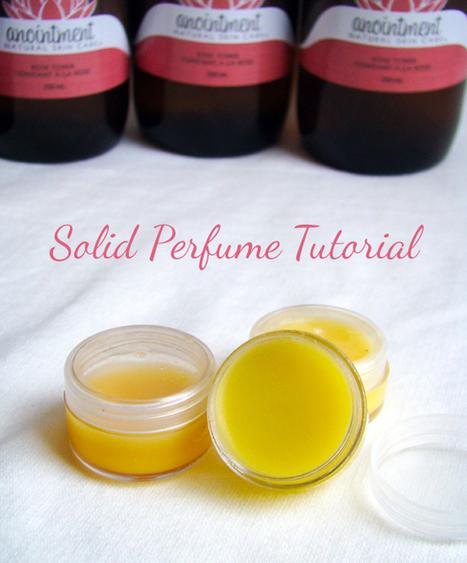 #Tutorial #DIY Luxury Solid Perfumes   Soap Making Adventure   Scoop.it