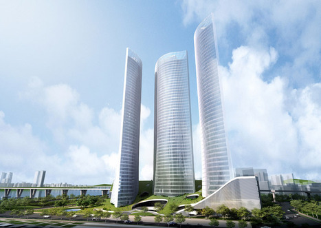 'Breeze': Innovative towers by Riken Yamamoto and Field Shop | Prionomy | Scoop.it