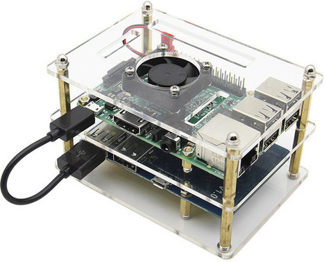 Enclosure & Battery Kit for Raspberry Pi Boards Sells for $22 | Embedded Systems News | Scoop.it