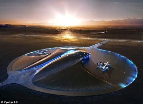 Phase I of world's first commercial spaceport now 90% completed: first flights in 2013   Random Everything   Scoop.it