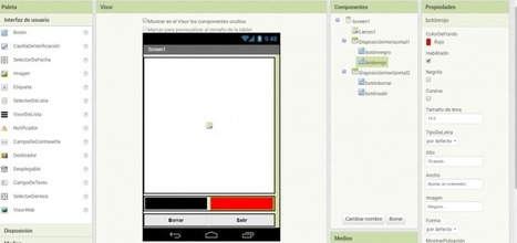 Crea una aplicación de dibujo para tu móvil con App Inventor | EL BADIU del CRP | Scoop.it