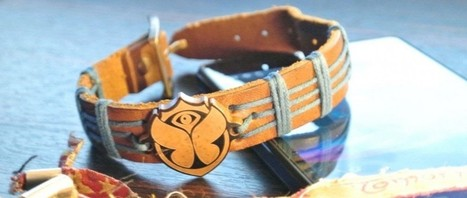 Un bracelet connecté pour faciliter les échanges lors d'un festival de musique - Web des Objets | Infos sur le milieu musical international | Scoop.it