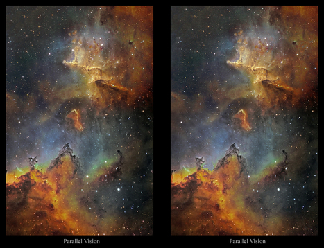 An experimental 3D-studies of Melotte 15 in IC 1805, the Heart Nebula | Manipulating Pain | Scoop.it