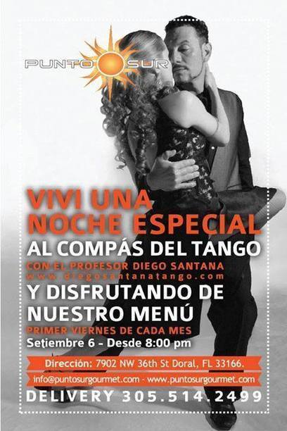 Free Tango Class at Doral! See you October 4th! | Facebook | Tango in Miami | Scoop.it
