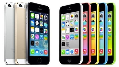 iPhone 5S and iPhone 5C Launched: Will it Reverse Trends for Apple? | Application Development | Scoop.it