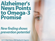Alzheimer's News Points to Omega-3s' Promise | Longevity science | Scoop.it
