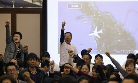Distraught Chinese relatives of lost MH370 passengers cry cover-up   Littlebytesnews Current Events   Scoop.it