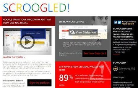 La cuestionable privacidad de Gmail | Personas 2.0: #SocialMedia #Strategist | Scoop.it
