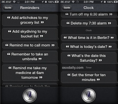 Get a List of Siri Commands Directly from Siri | Coaching for Leaders | Scoop.it