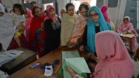 Elections au Pakistan – un vent d'espoir pour les femmes ? | La femme, avant et maintenant. | Scoop.it