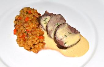 Latvian Hare Trio, Part 1: Sautéed Loin, Blackcurrant Balsam, Barley | Latvian cuisine | Scoop.it