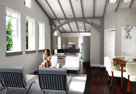 "The Residences at St. Monica's : Luxury Homes in Capitol Hill, DC | ""Adaptive Reuse"" 