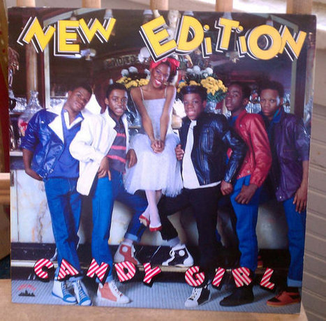 New Edition Candy Girl LP Bobby Brown Bell Biv DeVoe Vintage Vinyl Classic R&B Early Hip Hop 1980s | Kitsch | Scoop.it