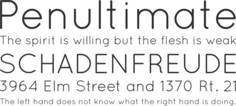 Free Font Quicksand by Andrew Paglinawan | Font Squirrel | lili box likes | Scoop.it