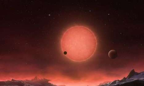 Just 40 light years from Earth, three planets might host life forms adapted to infrared worlds | Amazing Science | Scoop.it