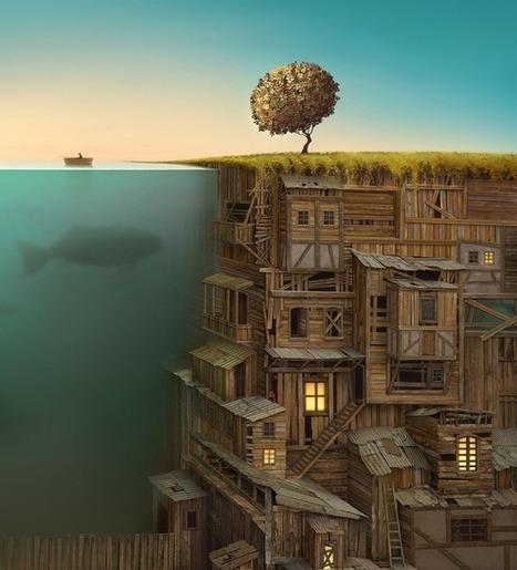 20 Mind-Blowing Surreal Illustrations | io art | Scoop.it