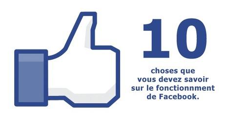 10 choses sur le fonctionnement de Facebook | Le Best of FB (and more)! | Scoop.it