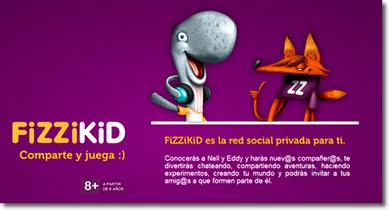 FiZZiKiD, una red social educativa para niños | Hijos Digitales | Educación 2.0 - Educan2 | Scoop.it