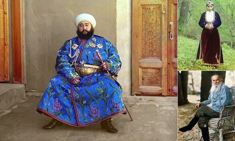 Colour photos from pre-revolutionary Russia | Background Story is History | Scoop.it