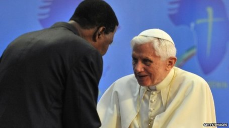Pope urges Africa reconciliation | Coveting Freedom | Scoop.it