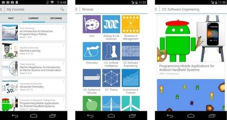 Coursera Launches Android App | Time to Learn | Scoop.it