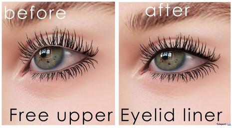 Upper Eyelid Liner Gift by DeeTaleZ | Teleport Hub - Second Life Freebies | Second Life Freebies | Scoop.it