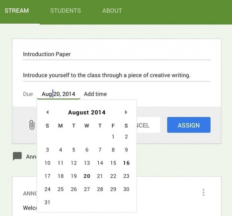 Getting Started with Google Classroom - Instructional Tech Talk | English in Les Rives du Léman | Scoop.it