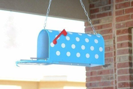 Mailbox Birdhouse & Bird feeder | Creative Ideas | Scoop.it