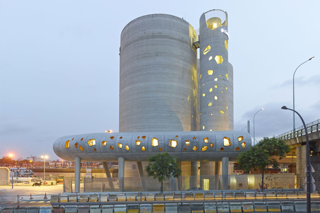 [Vib Architecture] Silos 13: In one of Paris's muting urban areas... | The Architecture of the City | Scoop.it