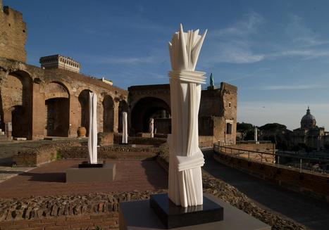 Pablo Atchugarry | Mercati e Foro di Traiano | Art in Rome | Art in Rome | Scoop.it