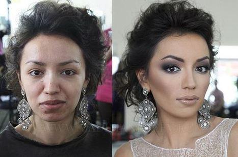 Les pouvoirs ABSOLUMENT magiques du maquillage … Vous n'en croirez pas vos yeux ! | secretsalons | Scoop.it