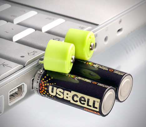 USB Rechargeable Batteries Could Be The Greatest Invention Yet | bancoideas | Scoop.it