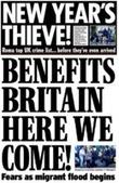 New Year, same nasty xenophobia in UK media - The Media Blog | Interesting Reading to learn English -intermediate - advanced (B1, B2, C1,) | Scoop.it
