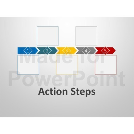 Action Steps - Business Presentation PowerPoint Graphics | PowerPoint Presentation Tools and Resources | Scoop.it