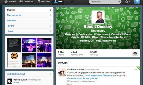 Twitter: préparez-vous à l'arrivée des nouveaux profils le 12 décembre | Community management et Social Media | Scoop.it