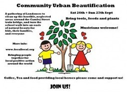 Get excited for our BIG Urban Beautification Day! | Positive Collective Social Action | Scoop.it