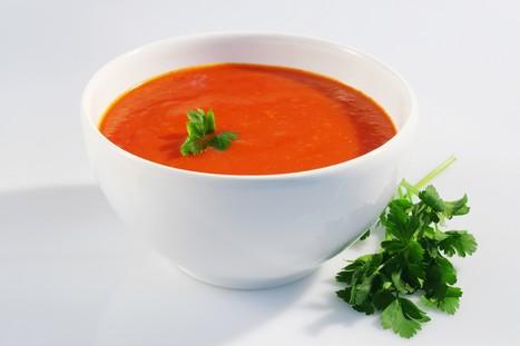 De belles recettes autour de la tomate - Rougeline | Yummy's kitchen | Scoop.it
