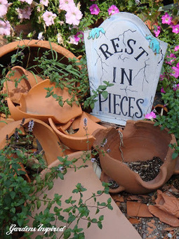 Upcycle your broken garden pots | Upcycled Garden Style | Scoop.it